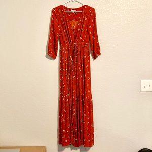 Amuse Society Dresses - Amuse Society Red Maxi